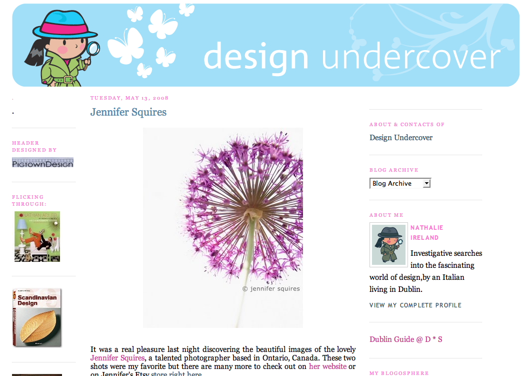 design undercover - may 2008 - Jennifer Squires Productions