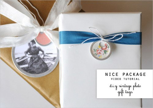 Nice Tag: D.i.y. Photo Gift Tags By Nice Package