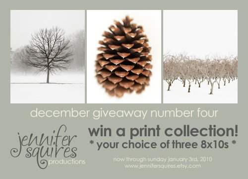 giveaway 4 december giveaway #4   print collection