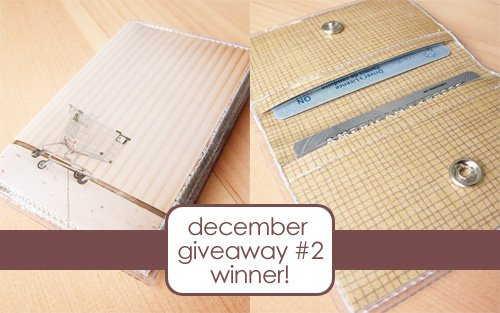 october09 112+118 winner of december giveaway #2