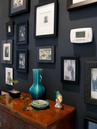 blackpicturewall how to hang pictures like chancie