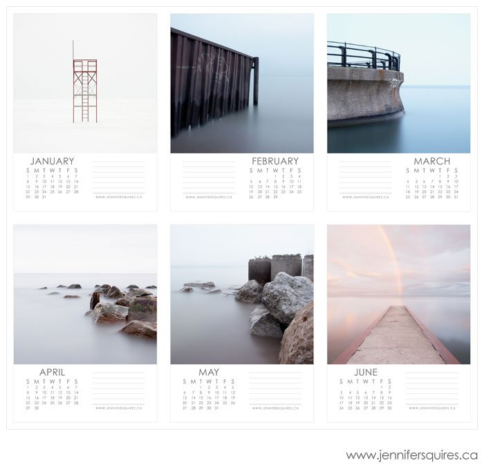 january june 2 blog 2012 Landscape Calendar