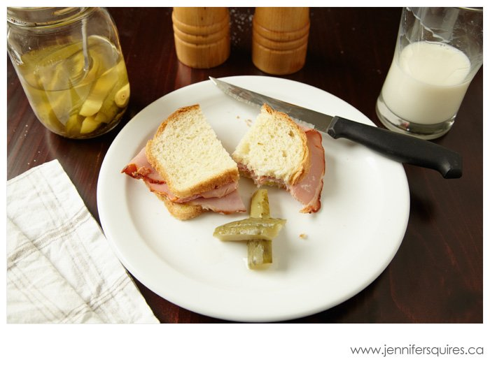 201112 085 blog Food Photography   Ham and Pastrami Sandwich