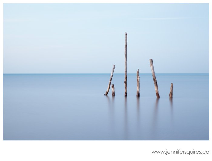 Seascape Photograph Exhale Peaceful Seascape Photograph   Exhale