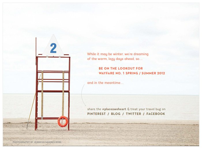 Wayfare Magazine - February 2012 - Lifeguard Station 2