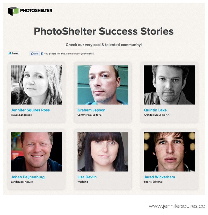 PhotoShelter Success Stories Featured   PhotoShelter