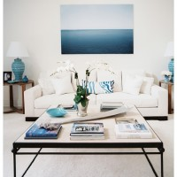 Large Photograph Lonny Magazine Ocean Over White Couch 200x200 Home Decor