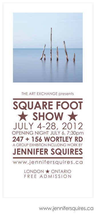 london art show square foot show ad 2012 London Art Show   Square Foot Show