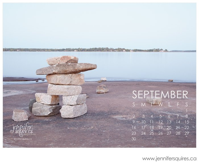 20120822 beausoleilisland 160 blog September 2012 Desktop Calendar