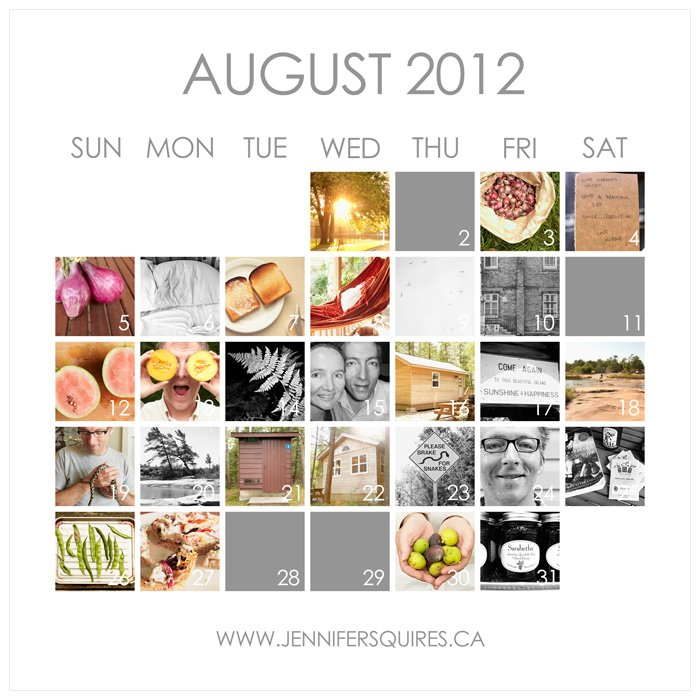 august 2012 photo a day with images6 August 2012 Photo A Day Calendar