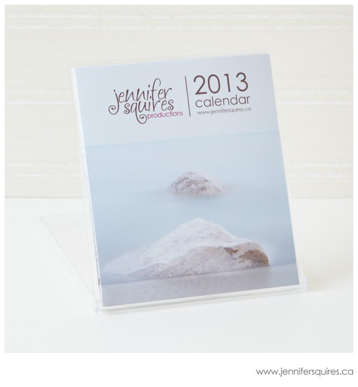 2013 Desk Calendar with Jewel Case - November