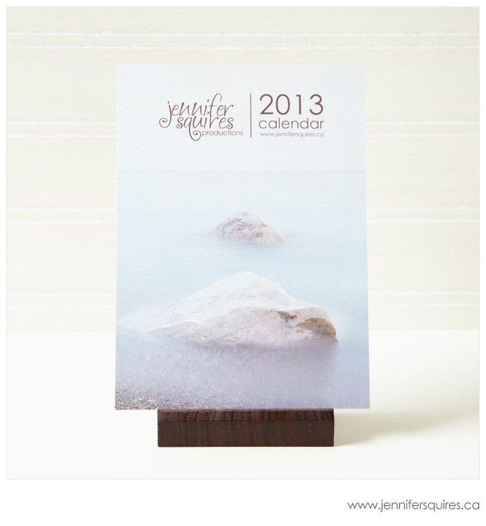 2013 Calendar on an Easel