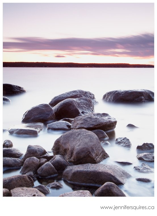 Beausoleil Island Sunset Photography Christian Beach Sunset 102 Tips for How to Choose an Aperture for Landscape Photography