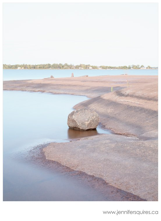 Muskoka Pink - Modern Art Photography