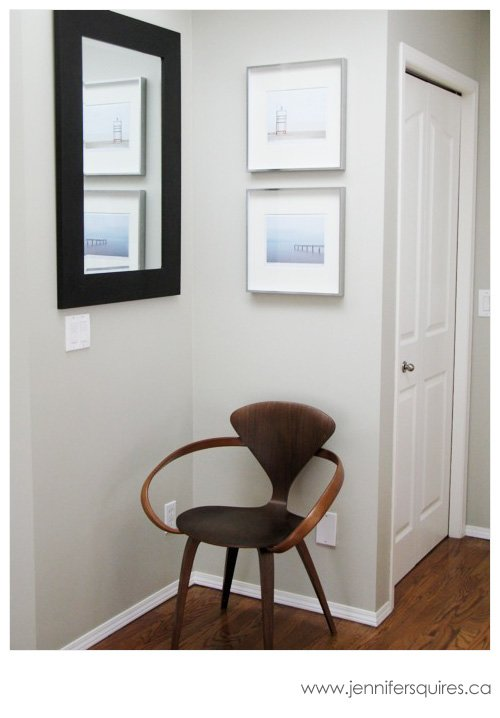 Displaying Photography - Two Framed 8x10 Beach Scenes