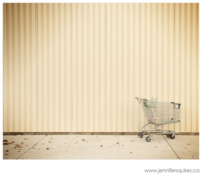 Urban Photography - Shopping Cart