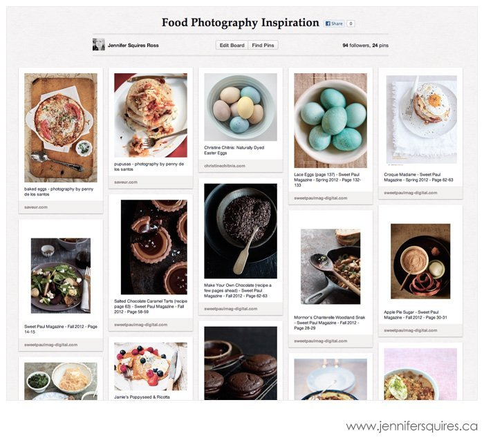20130221 pinterestfoodinspirationboard Pinterest Photo Project