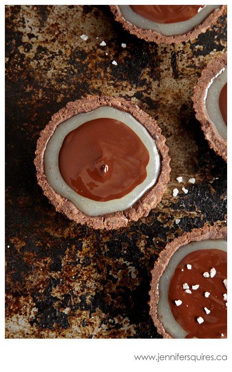 20130225 ChocolateCaramelTarts 120 Winter Pinterest Photo Project   Sweet Caramelly Tarts