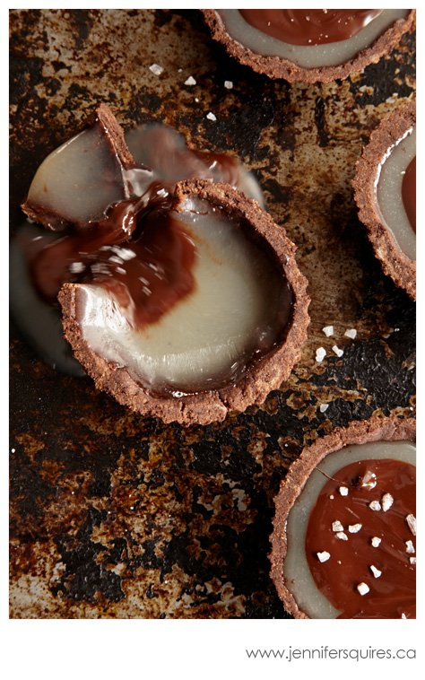 20130225 ChocolateCaramelTarts 126 Winter Pinterest Photo Project   Sweet Caramelly Tarts