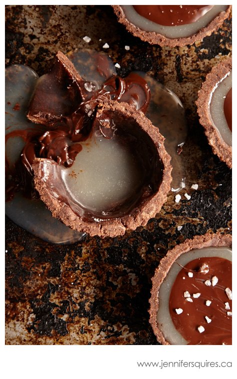 20130225 ChocolateCaramelTarts 128 Winter Pinterest Photo Project   Sweet Caramelly Tarts