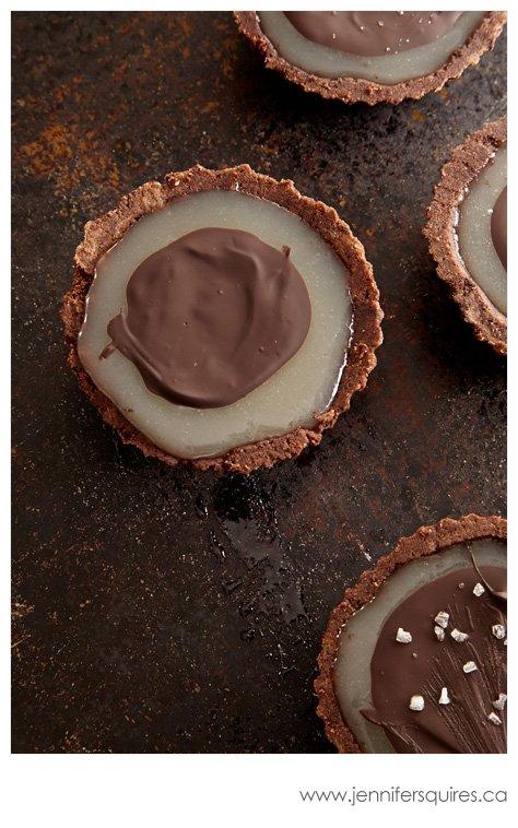 20130225 ChocolateCaramelTarts 212 Winter Pinterest Photo Project   Sweet Caramelly Tarts