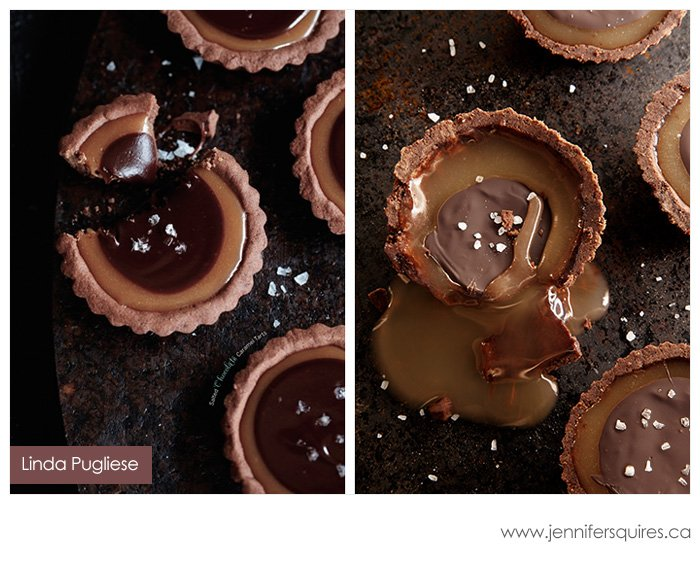 Pinterest Photo Project - Salted Chocolate Caramel Tarts