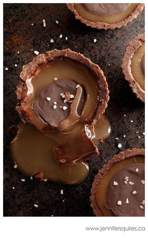 20130225 ChocolateCaramelTarts 217 hero Winter Pinterest Photo Project   Sweet Caramelly Tarts