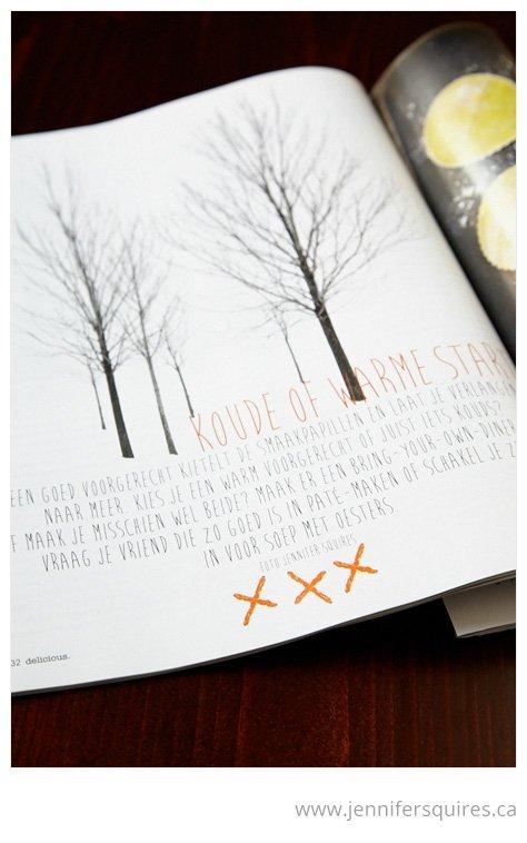 Delicious Magazine Publishes Elviage Pearl