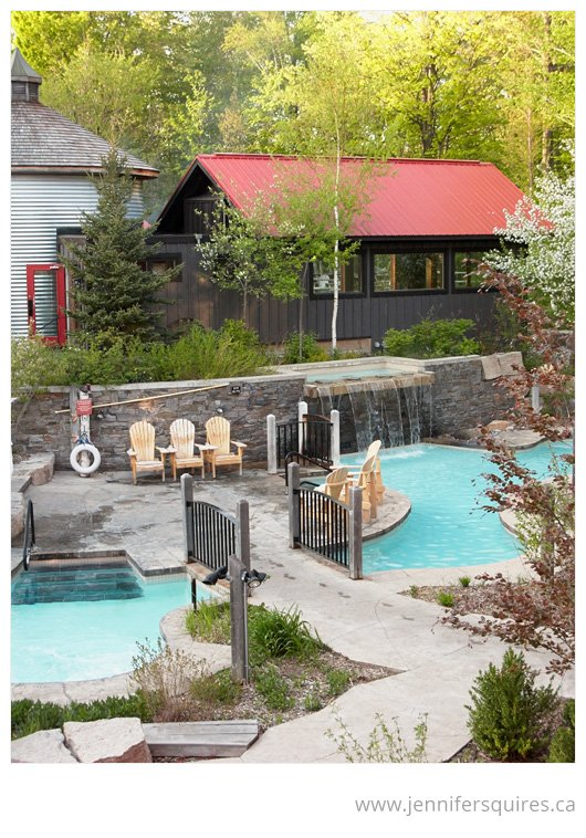Travel Photography - Scandinave Spa at Blue Mountain