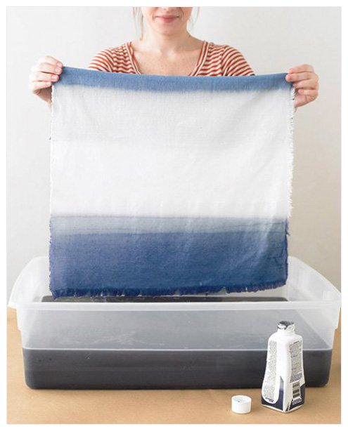 diy art dip dye fabric Dorm Decor {aka DIY Art I Want to Make for Our Home}