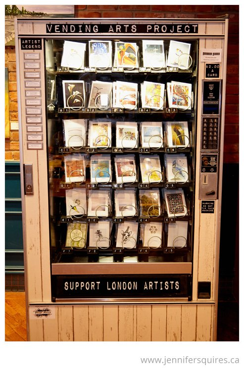 The Vending Arts Project