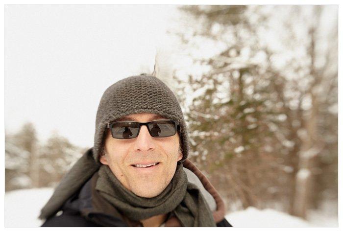 Winter Yurting - Darren and Bird