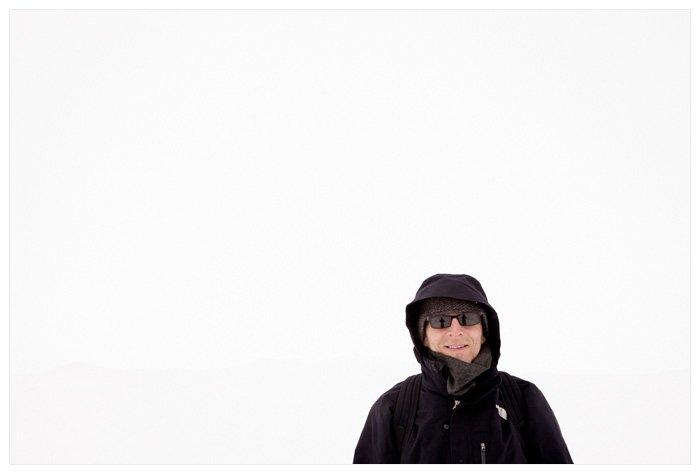 Winter Yurting - Darren