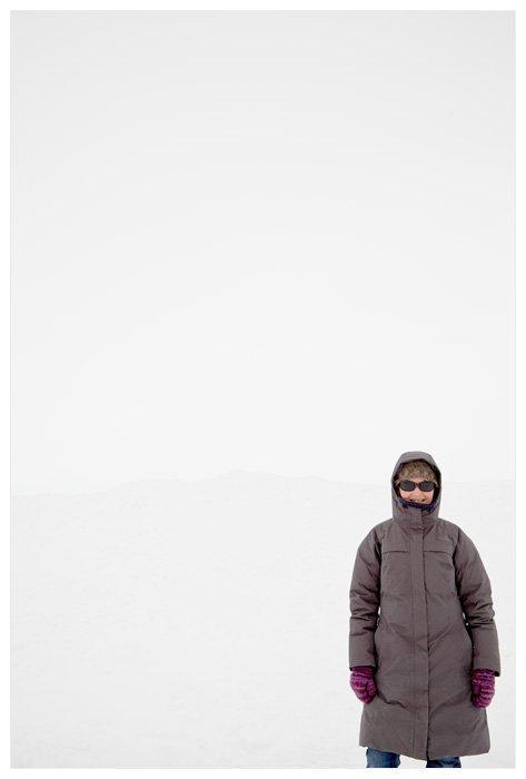 Winter Yurting - Me