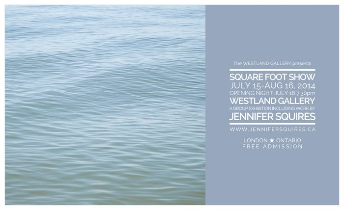 westland gallery square foot show ad 2014 London Art   2014 Square Foot Show