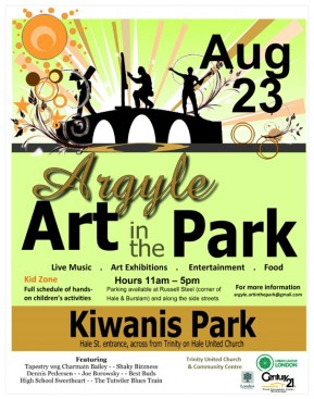London Art Show – Argyle Art in the Park 2014