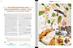 Peterborough Kawartha Hospitality Photography - WestJet Magazine Article
