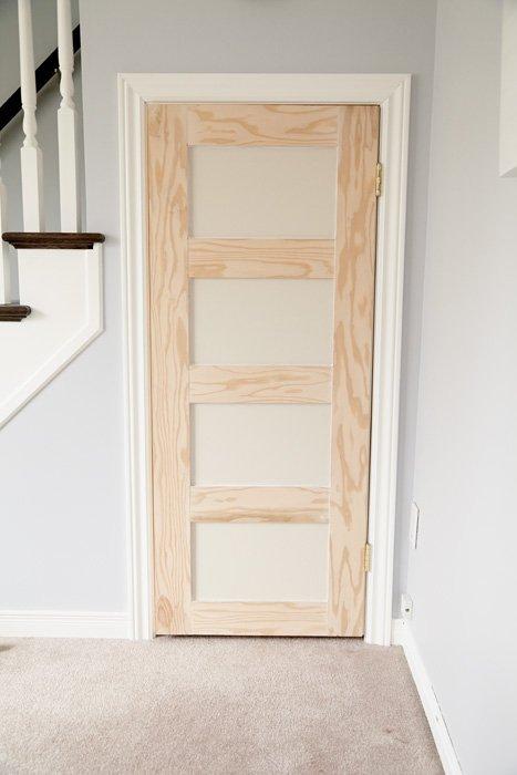 DIY Shaker Door - In Progress