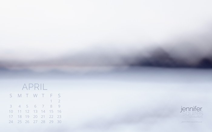 April 2016 Calendar - Abstract Art Wallpaper