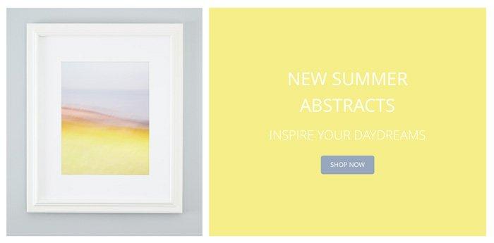 Inspirational Wall Art - New Summer Abstract Art Prints