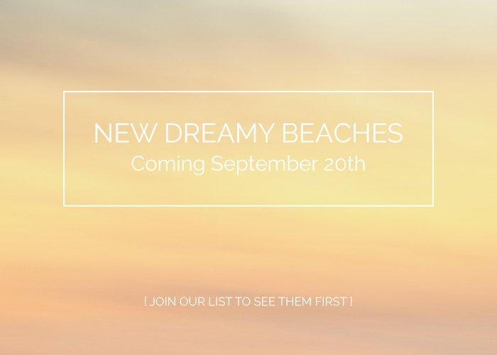 Dreamy Beach Abstract Photographs