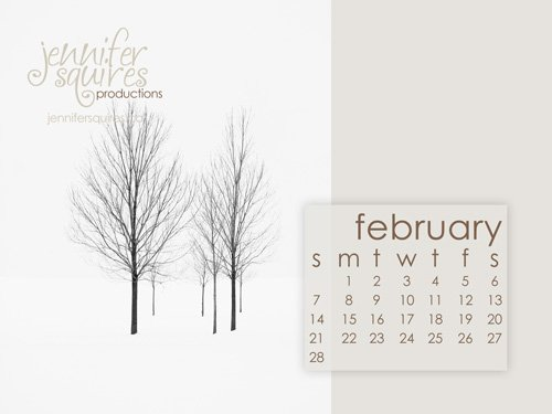 february 2010 downloadable desktop calendar