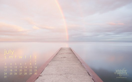 July 2011 Desktop Calendar