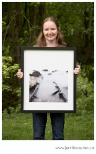 16x20 photograph in a 20x24 frame
