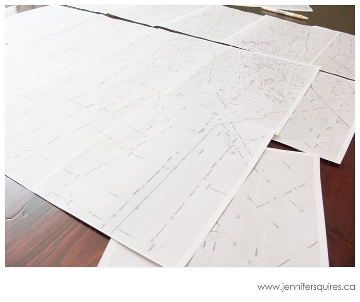 Pre-production - Winter Trees Map