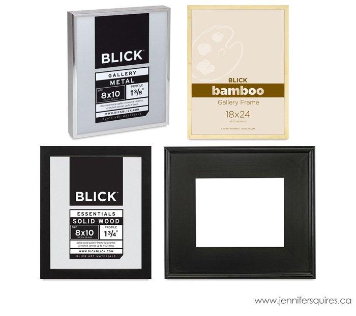 Dick Blick frames for 24x30 photographs