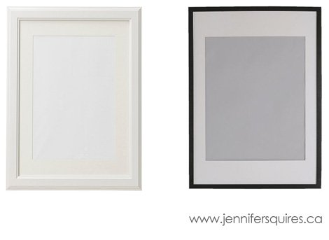 ikea frames for 24x30 photographs
