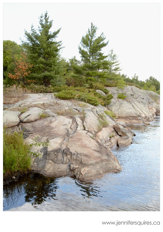 Beausoleil Island Photograph - McCabe Rock