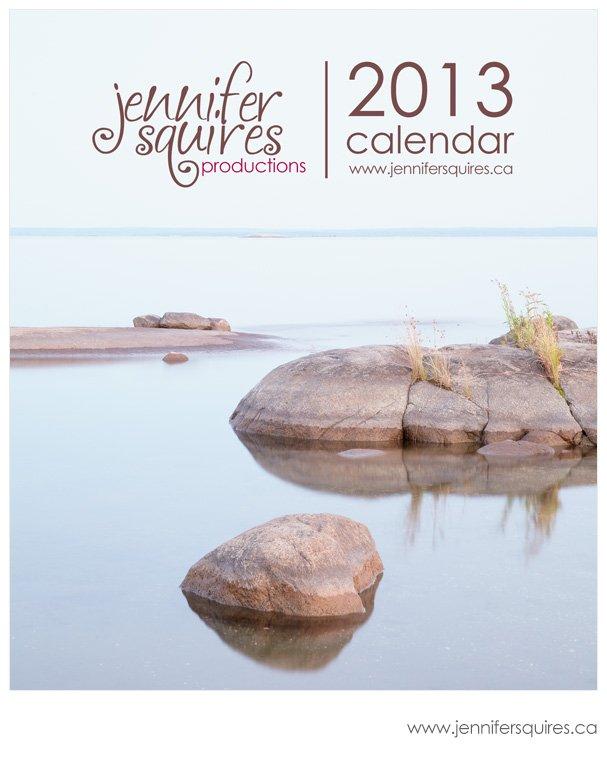 2013 Calendar - Beausoleil Island - Cover