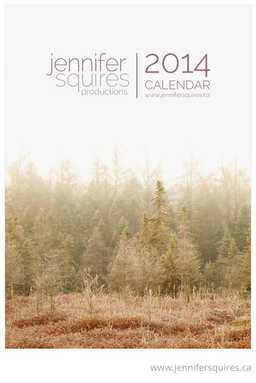 2014 Landscape Calendar